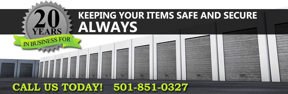 Storage Units in North Little Rock